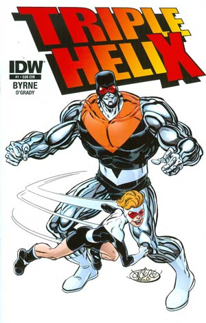 Triple Helix #1 Cover B Variant John Byrne Subscription Cover