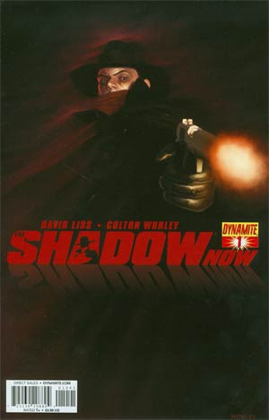 Shadow Now #1 Cover B Variant Colton Worley Subscription Cover
