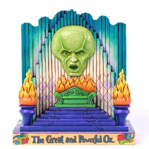 Wizard Of Oz Double-Sided Wizard Figurine