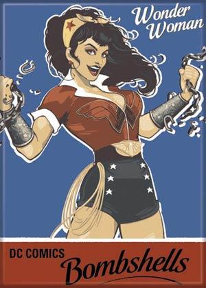 DC Comics 2.5x3.5-inch Magnet - Wonder Woman Bombshell (21203DC)