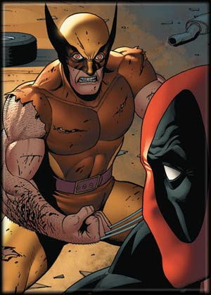 Marvel Comics 2.5x3.5-inch Magnet - Wolverine And Deadpool (21150MV)