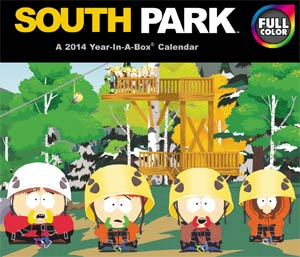 South Park 2014 6x5-inch Page-A-Day Calendar
