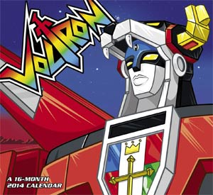 DO NOT USE (Item Cancelled) Voltron Force 2014 12x11-inch Wall Calendar