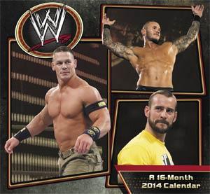 WWE 2014 7x6-inch Mini Calendar