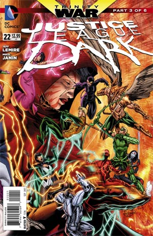 Justice League Dark #22 Cover B Incentive Brett Booth Variant Cover (Trinity War Part 3)