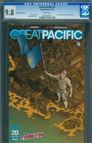 Great Pacific #1 Cover C 1st Ptg NYCC Exclusive Cover CGC 9.8
