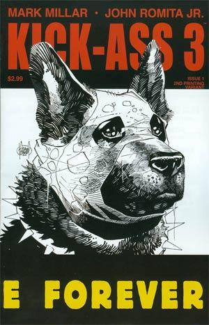 Kick-Ass 3 #1 Cover H 2nd Ptg Variant Adam Kubert Cover