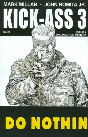 Kick-Ass 3 #1 Cover J 2nd Ptg Variant Marc Silvestri Cover