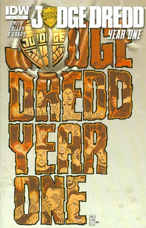 Judge Dredd Year One #4 Cover B Incentive Dave Sim Variant Cover