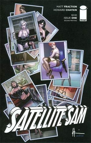 Satellite Sam #1 Cover D 2nd Ptg