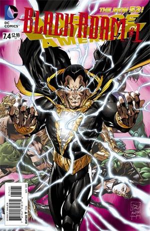 Justice League Of America Vol 3 #7.4 Black Adam Cover B Standard Cover
