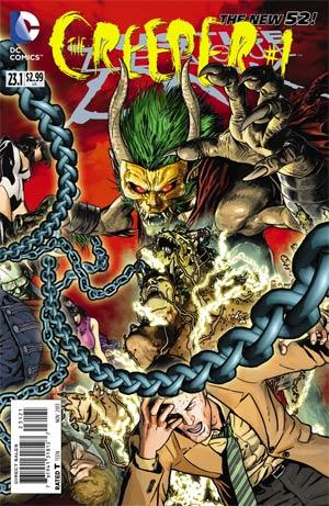 Justice League Dark #23.1 The Creeper Cover B Standard Cover
