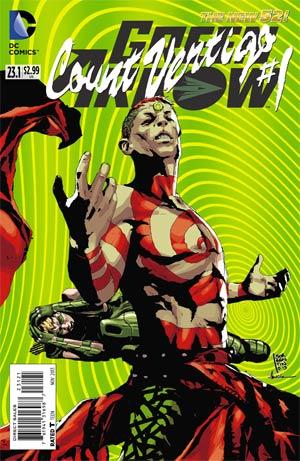 Green Arrow Vol 6 #23.1 Count Vertigo Cover B Standard Cover