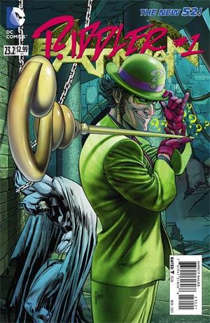 Batman Vol 2 #23.2 Riddler Cover B Standard Cover