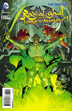 Batman And Robin Vol 2 #23.3 Ras Al Ghul And The League Of Assassins Cover B Standard Cover