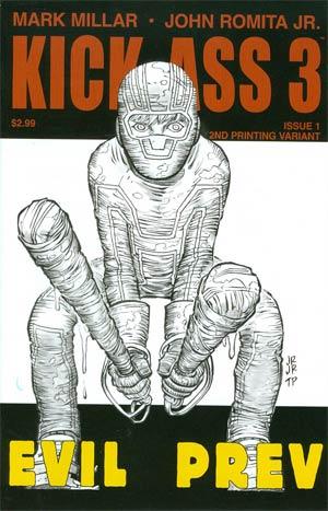 Kick-Ass 3 #1 Cover L 2nd Ptg Regular John Romita Jr Cover