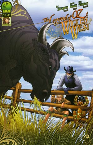 Legend Of Oz The Wicked West Vol 2 #10 Cover A Alisson Borges