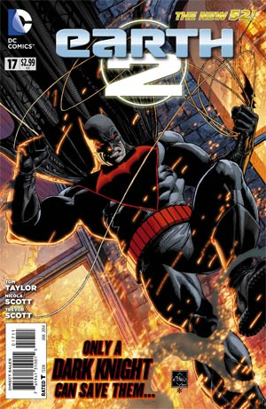 Earth 2 #17 Cover A Regular Ethan Van Sciver Cover