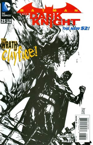 Batman The Dark Knight Vol 2 #23 Cover B Incentive Alex Maleev Sketch Cover