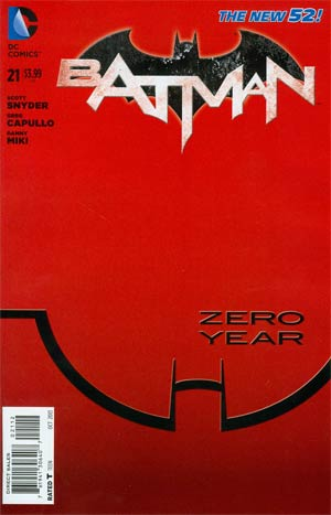 Batman Vol 2 #21 Cover F 2nd Ptg (Batman Zero Year Tie-In)
