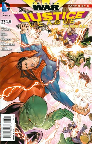 Justice League Vol 2 #23 Cover D Incentive Mikel Janin Variant Cover (Trinity War Part 6)