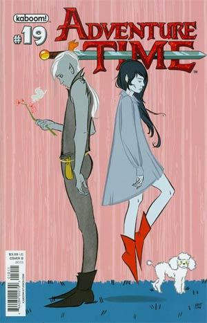 Adventure Time #19 Cover B Regular Britt Sanders Cover