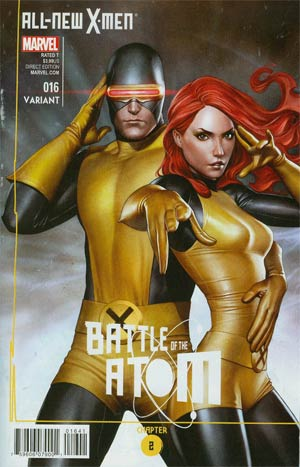 All-New X-Men #16 Cover C Incentive Adi Granov Variant Cover (Battle Of The Atom Part 2)