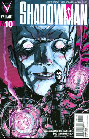 Shadowman Vol 4 #10 Cover C Incentive Riley Rossmo Variant Cover