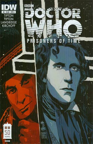 Doctor Who Prisoners Of Time #8 Cover A Regular Francesco Francavilla Cover