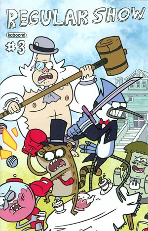 Regular Show #3 Cover A Regular Phil Jacobson Cover