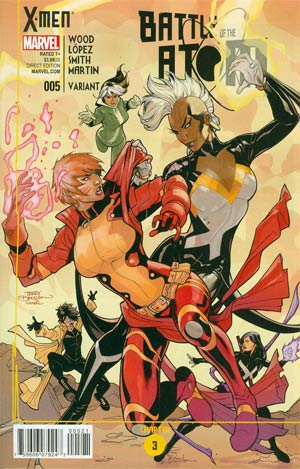 X-Men Vol 4 #5 Cover B Incentive Terry Dodson Variant Cover (Battle Of The Atom Part 3)