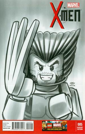 X-Men Vol 4 #5 Cover D Incentive Leonel Castellani Lego Sketch Variant Cover (Battle Of The Atom Part 3)