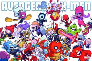 Avengers vs X-Men By Skottie Young Poster New Printing