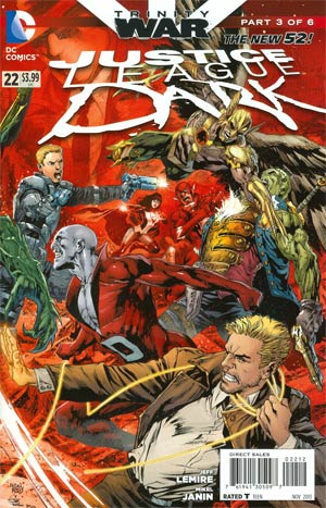 Justice League Dark #22 Cover D 2nd Ptg Regular Ivan Reis Cover (Trinity War Part 3)