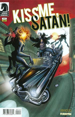 Kiss Me Satan #1 Cover B Incentive Juan Ferreyra Variant Cover