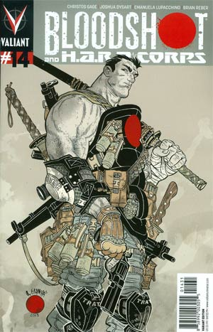 Bloodshot And H.A.R.D. Corps #14 Cover C Incentive Rafael Grampa Variant Cover
