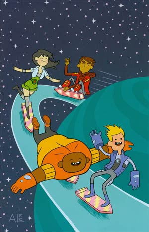 Bravest Warriors #12 Cover C Incentive Alec Longstreth Virgin Variant Cover