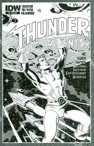 THUNDER Agents Vol 5 #2 Cover D Incentive Dave Sim Sketch Cover