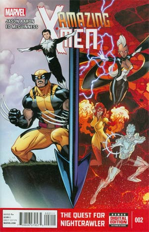 Amazing X-Men Vol 2 #2 Cover A 1st Ptg Regular Ed McGuinness Cover