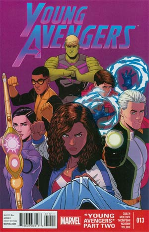 Young Avengers Vol 2 #13