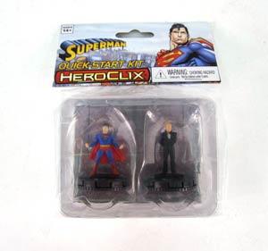 DC HeroClix Superman Lex Luthor Quick-Start Kit 2-Pack