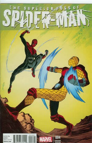 Superior Foes Of Spider-Man #4 Cover B Incentive Declan Shalvey Variant Cover