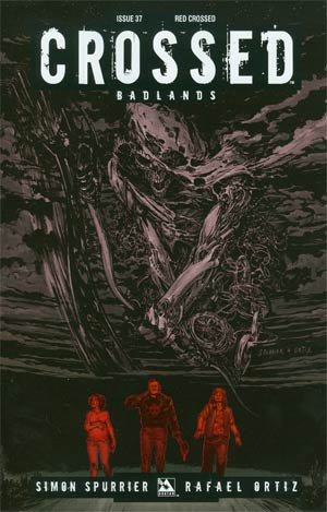 Crossed Badlands #37 Cover D Incentive Red Crossed Edition