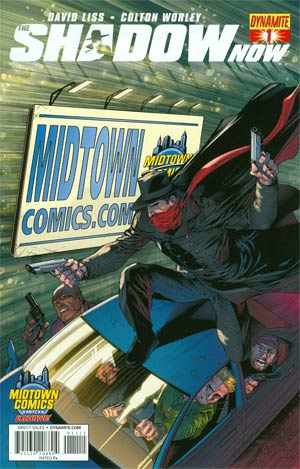 Shadow Now #1 Cover E Variant Midtown Comics Logo Cover