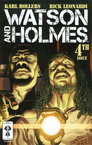 Watson And Holmes #4 Cover C Incentive ChrisCross Variant Cover