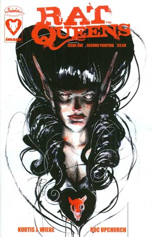 Rat Queens #1 Cover C 2nd Ptg