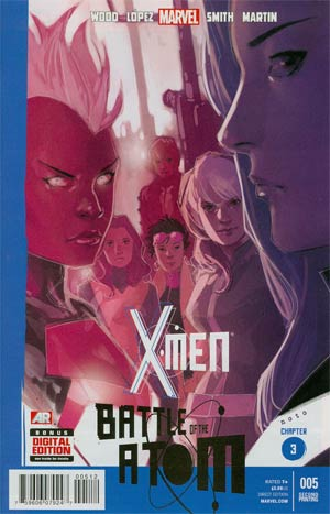 X-Men Vol 4 #5 Cover E 2nd Ptg Phil Noto Variant Cover (Battle Of The Atom Part 3)