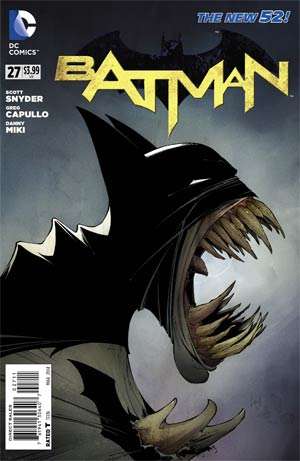 Batman Vol 2 #27 Cover A Regular Greg Capullo Cover (Zero Year Tie-In)
