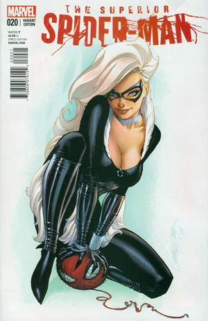 Superior Spider-Man #20 Cover B Incentive J Scott Campbell Variant Cover