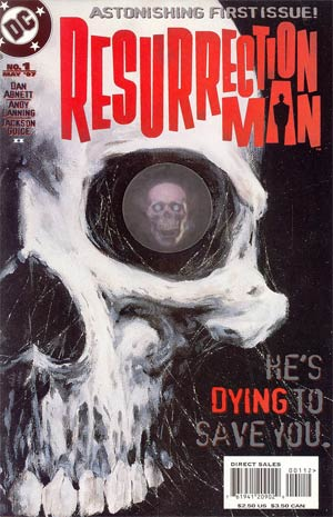 Resurrection Man #1 Cover B 2nd Ptg